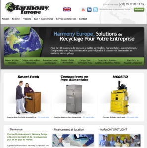 harmony europe website