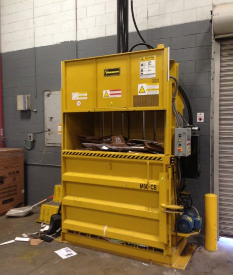 Harmony Rental Equipment - M60CB Vertical Cardboard Baler