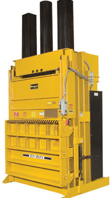 heavy duty vertical baler