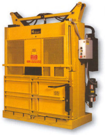 low profile baler