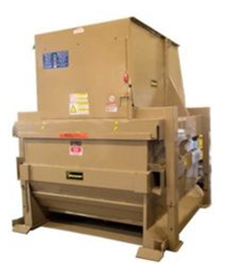 Vertical Outdoor Compactor