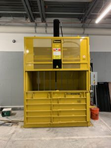 M72HD High Density Vertical Baler VIdeo