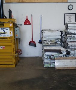small recycling balers